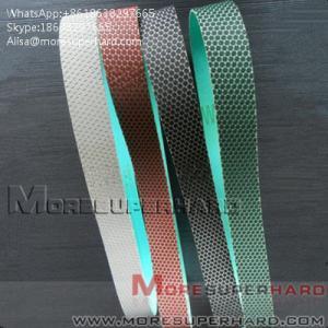 China Flexible Diamond Belts Diamond sand belt for polishing and grindingAlisa@moresuperhard.com on sale