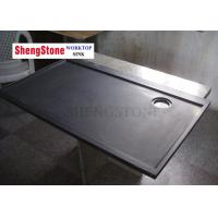 China High Compression Resistance 750mm Wide Laboratory Black Epoxy Resin Worktop on sale
