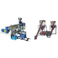 Buy cheap PVC Polyethylene Extruder Machine , Plastic Pelletizing Equipment For Wires Materials product
