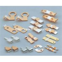 Buy cheap Brass Parts Of Welding Machine / Electrical Stamped Metal Parts For Starter product