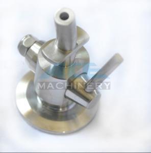 Buy cheap Stainless Steel Material Aspetic Sample Valve SS316L Sanitary Sampling Cock Sample Valve product