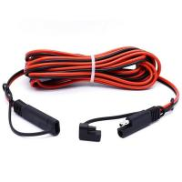 Buy cheap 2 Pin SAE Connector Quick Disconnect Trailer Wire Harness Male to Female Cable Assembly Manufacturer from wholesalers