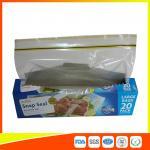 Buy cheap Snap Seal Reusable Sandwich Bags For Coles Supermarket Large Size 35*27cm product