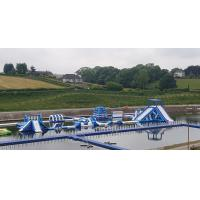 Buy cheap Giant Inflatable Water Park Games In Belfast  / Inflatable Water Circuit Manufacturer product