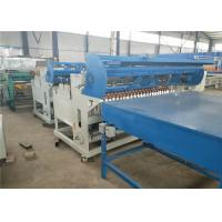 Buy cheap Fully Automatic Welded Wire Mesh Machine , Black Wire Steel Wire Mesh Machine product