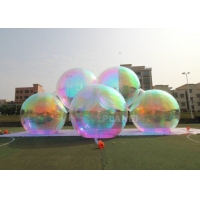Buy cheap Multicolor Inflatable Mirror Sphere Balloon For Christmas Decoration product