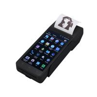 Buy cheap FP605 Wireless ticket Finger printer scanner linux POS handheld terminal biometric pos PDA device with sim card printer product