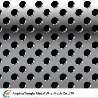 Buy cheap Stainless Steel Perforated Metal |Round or Square Hole Pattern Customized Size product
