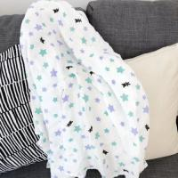 Buy cheap Breathable 120*120 cm 100% cotton muslin swaddle for baby lightweight product