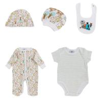 Buy cheap Green Romper Summer Newborn Baby Clothes Set , O - Neck Newborn Baby Grows from wholesalers