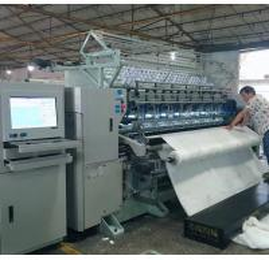 Buy cheap High Speed Multi Needle Quilting Machine Lock Stitch Garments Making Machine from wholesalers