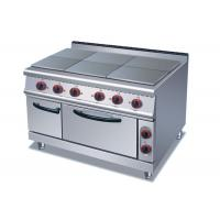 Buy cheap Professional Cooking Lines 1 / 4 / 6 Plates Electric Stainless Steel Hot Plate product