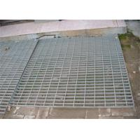 Hot Dip Galvanized Steel Grating 300 - 1000mm Width 300 - 6000mm Length