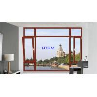 Buy cheap Toughened Glass Wooden French Windows And Doors Strong Temperature Resistance product