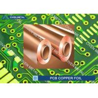 Buy cheap 550mm - 1295mm Width Rolled annealed Copper Foil for Printed Circuit Board product