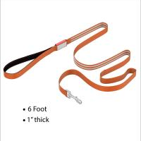 Buy cheap Three Colors LED Dog Leash 6 Ft Long Padded Handle With 4 Hours Working Time product