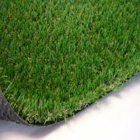 Buy cheap 30mm Artificial Plastic Lawn Grass Wreaths 9000 Dtex 14700 Turfs Every Sqm product