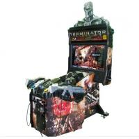 Buy cheap Coin Operated Online Shooting Video Games Terminator Salvation 4 Arcade Cabinet Games Machines from wholesalers