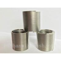 Buy cheap DIN/GB stainless steel screw thread coils wiyh superior quality product