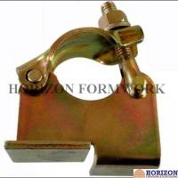 Drop Forged Board Retaining Coupler Galvanized Steel Solid Structure OEM Available
