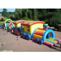 Buy cheap Large Long Outdoor Obstacle Course For Kids Interactive Boot Camp product
