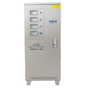Buy cheap TNS-15KVA Three Phase High Precision Servo Motor Type Automatic AC Voltage Regulator product