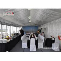 Buy cheap Outdoor Party Catering Tent Commercial Party Tent with Luxury Glass Wall product