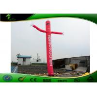 Buy cheap Strength Durability Attractive Red Inflatable Air Dancers For Outdoor Event product