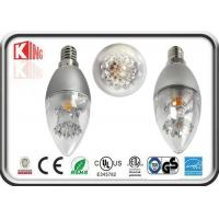 Buy cheap Energy Saving Dimmable LED Candle Bulbs 3.5 W E27 360 Degree For Chandelier product