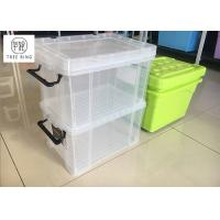"""Buy cheap 30Ltr  Stackable Usefull Plastic storage boxes container with Clip-lock lid ,  19.3"""" *13.8"""" * 11.2"""" from wholesalers"""