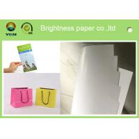 China 100% Virgin Wood Pulp C2s Art Paper / Chrome Art Paper For Brochure Book on sale