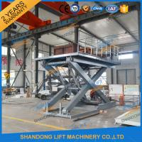 Buy cheap Stationary Scissor Lift Platforms Hydraulic Lifting Equipment 5T 1.5m product