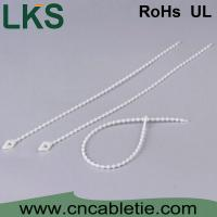Buy cheap LKS-120KT nylon 66 Bead cable ties with different color product