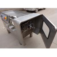 China 26 Knives Commercial Meat Dicer Machine , Double Edged Raw Chicken Dicer on sale