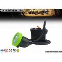 Buy cheap IP67 11.2Ah 5W Cree Mining Cap Lights Four Color Lighting ATEX Approved product