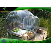 Buy cheap Clear Inflatable Bubble Tent , TPU Inflatable Bubble Outdoor Camping Tent product