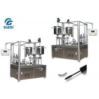 China Mascara Semi Auto Filling Machine With Two Nozzels , 1200 X 800 X 2080MM Size on sale