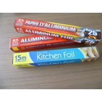 Buy cheap Microwavable Food Grade Aluminum Foil High Purity  For Fast Food / Food Storage product