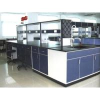 Buy cheap Wood Workbench Laboratory Furniture / Lab Chemical Phenolic Resin Worktop from wholesalers