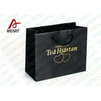 Hot Stamping Printed Custom Paper Shopping Bags For Retail Store Medium Size