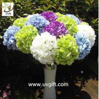 Buy cheap UVG FHY21 Flower artificial wedding bouquets silk hydrangea for wedding stage decoration product