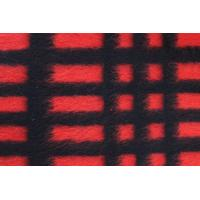 Modern Plaid Style Check Wool Fabric For Blanket 590G / M Weight