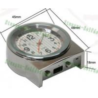 Stainless Steel Spy Clock Camera with Web Camera