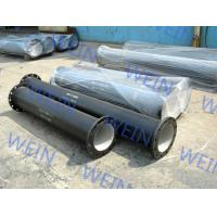 Buy cheap K9 Class Weld Flanged Ductile Iron Pipe Structure Round For Water Supply product