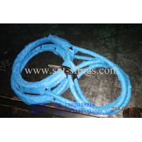 China PRESSED STEEL WIRE ROPE SLING on sale