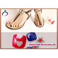 China Assortment of Anchor Toenail Decals Diamond Artificial Fingernails for Decorating on sale