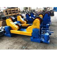 Buy cheap Standard 20 Ton Industrial Welding Rotator PU Rollers For 20m Pipes Welding from wholesalers