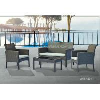 Buy cheap Metal Rattan Outside Table And Chairs Furniture Sets 4 Piece All Weather product