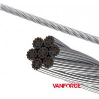 Buy cheap 7x19 Construction AISI 316 Stainless Steel Wire Rope For Ship / Offshore Platform product