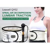 Buy cheap Inflated Decompression Back Belt Manual Pump Inflate Long Lifespan Lightweight product